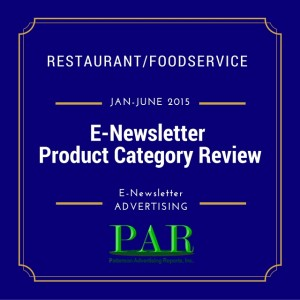 PAR Reports E Newsletter advertising Summary